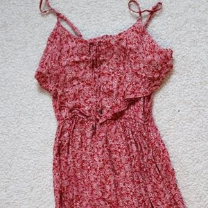 American Eagle Outfitters Dresses - Red Floral Dress